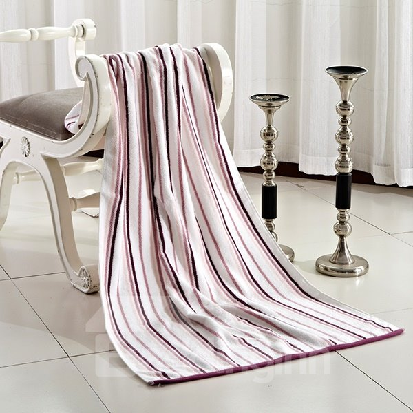 New Arrival Colorful Elegant Stripes Patterns Bath Towel