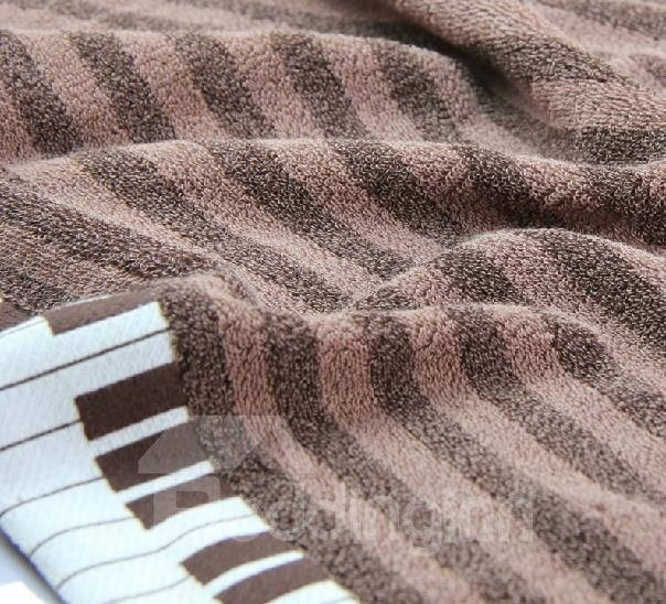 New Arrival 100%Cotton Piano Patterns Bath Towel