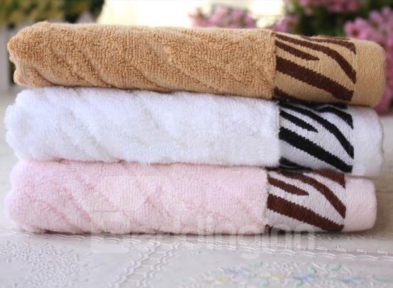 New Arrival Irregular Twill Patterns Towel