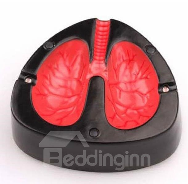 New Arrival Original  Cough Lung Shape Less Smoke Reminder Vocal Ashtray