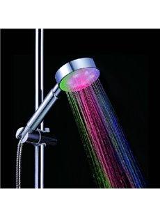 7 Colors LED Chrome Finish Hand Shower Head