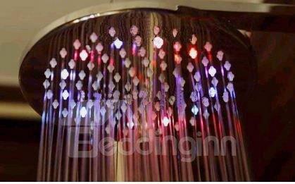 7 Colors LED Contemporary Shower Faucet Head Set