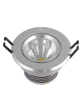 5W 80-110LM 6000-7500K LED Warm White and White Light Ceiling Down Light (AC220-240V)