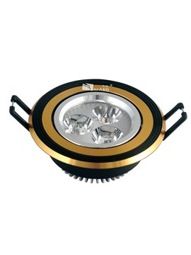 Top Quality Pretty Black and Golden CFL LED Ceiling Lamp