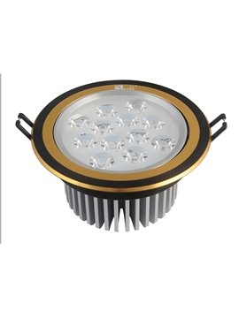High Quality White Light Black and Golden CFL LED Ceiling Lamp