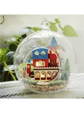 New Arrival Unique Christmas Gift DIY Cabin Alice Dreamlike Castle