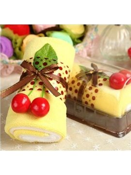 New Arrival Lovely Cake Style Creative Gift Towels (2 Hand Towels)