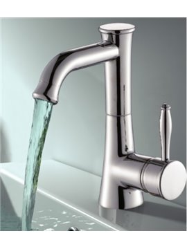 New Arrival Unique Brass One-hole Bathroom/Kitchen Sink Faucet