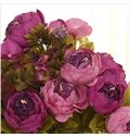 New Arrival A Bunch of Luxurious Vivid Artificial Peony Flowers