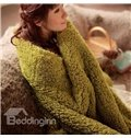 New Arrival High Quality Berber Fleece Sweet Warm Blanket