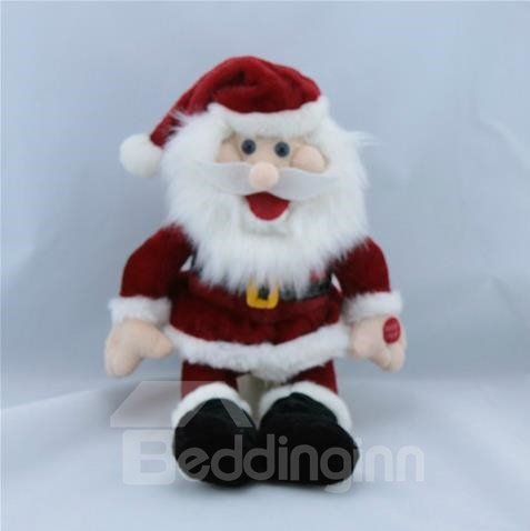 New Arrival Christmas Gift Electric Singing Santa Claus Toy
