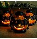 New Arrival Cute Halloween Bats Pumpkin Lantern Design Candle Holder
