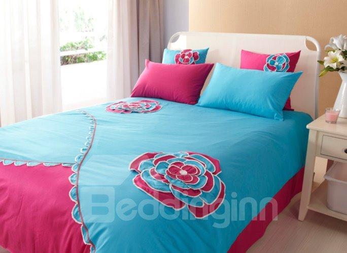 Back gt Gallery For Applique Designs Bed Sheets