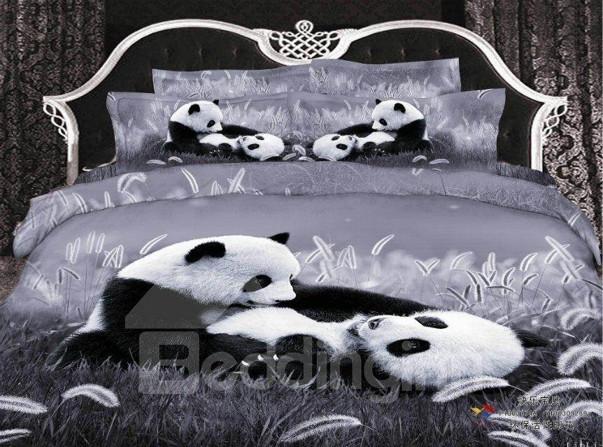 New Arrival Top Class Skincare Lovely Panda 3d Print 4