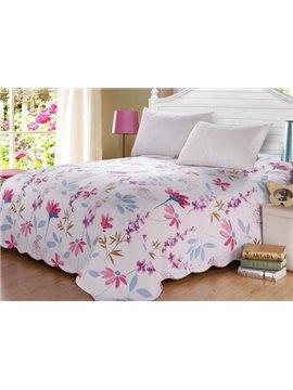 New Arrival Elegant Pink Lotus Patterns Sheet