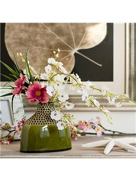 New Arrival Lovely Phalaenopsis Flowers Decorative Artificial Flower Set
