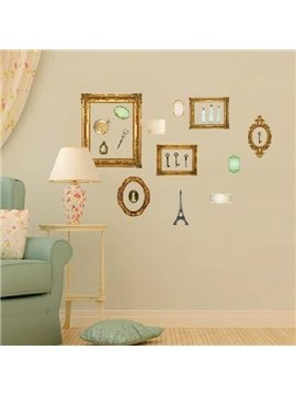 New Arrival European Style Lovely Photo Frames Print Wall Stickers