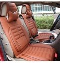 Popular Luxurious Stylish PU Leather and Deluxe Fashion Universal Car Seat Covers