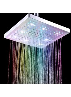 New Arrival Beautiful Colors changing ABS Shower Head Faucet