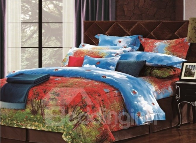 Funk N Gorgeous Autumn Themed Bedding Funk This House