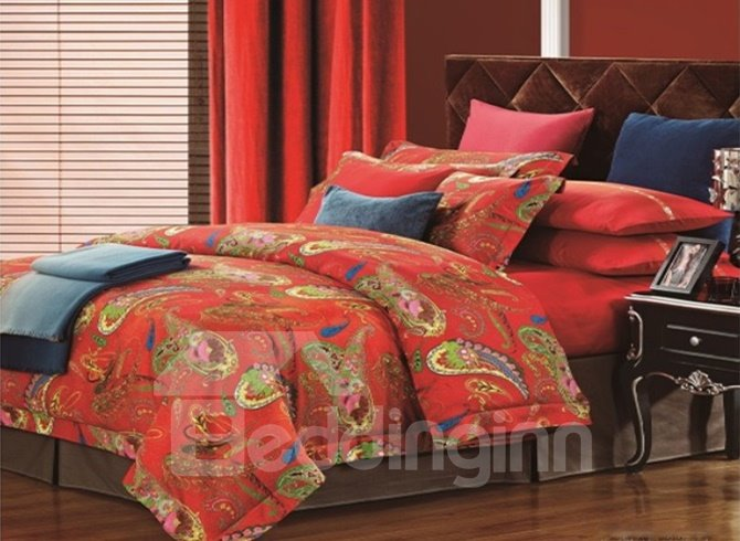 Beautiful Red Bedding Sets