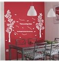 New Arrival Quiet Loving Tree Wall Stickers