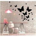 Romantic Butterflies 27-Piece Wall Decal Kit
