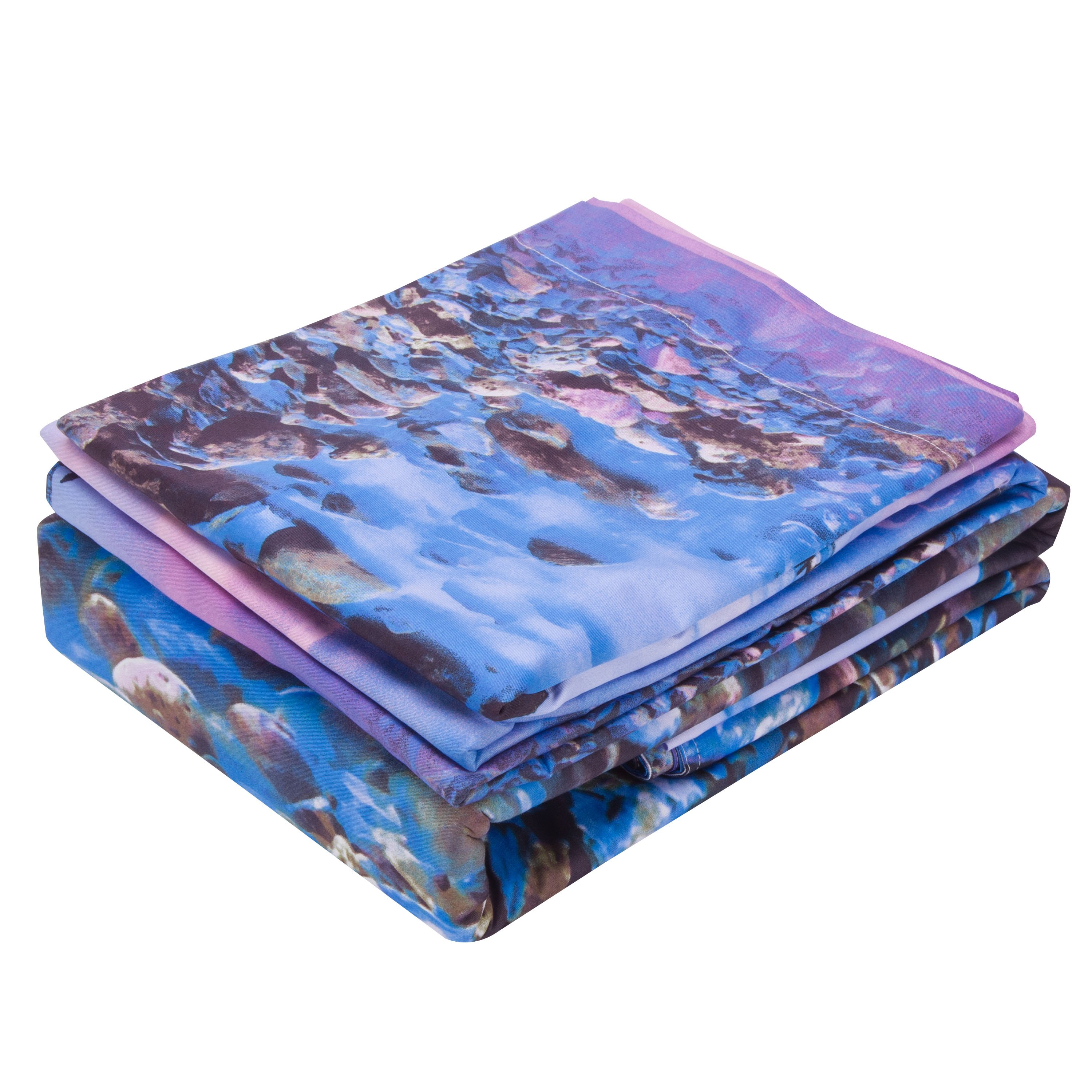 New Arrival Pebbles in the Mist Print 3D Bedding Sets