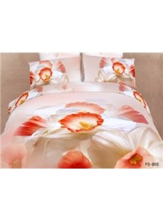New Arrival Forget Me Not Flowers Print 3D Bedding Sets