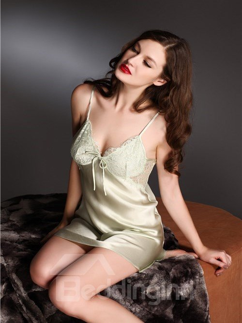 High Quality Elegant Mulberry Silk Chemise