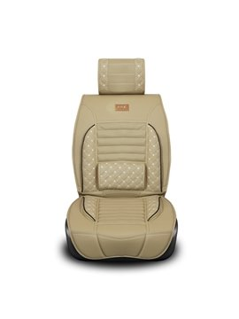Luxurious Stylish PU Leather and Deluxe Fashion Universal Car Seat Covers