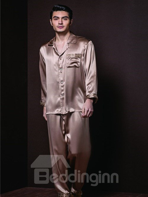 High Quality Golden Comfortable and Skincare Homewear
