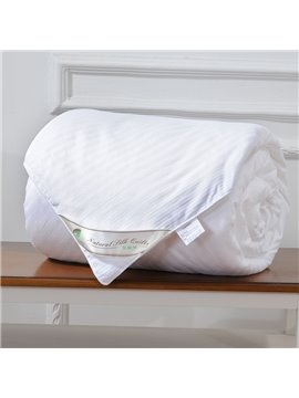 High Quality Graceful and Classic White Silk Quilt(2.0kg)