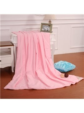 New Arrival Graceful Pink Flower Skincare Silk Quilt(1kg)