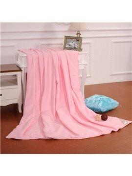 New Arrival Graceful Pink Flower Skincare Silk Quilt(1.5kg)