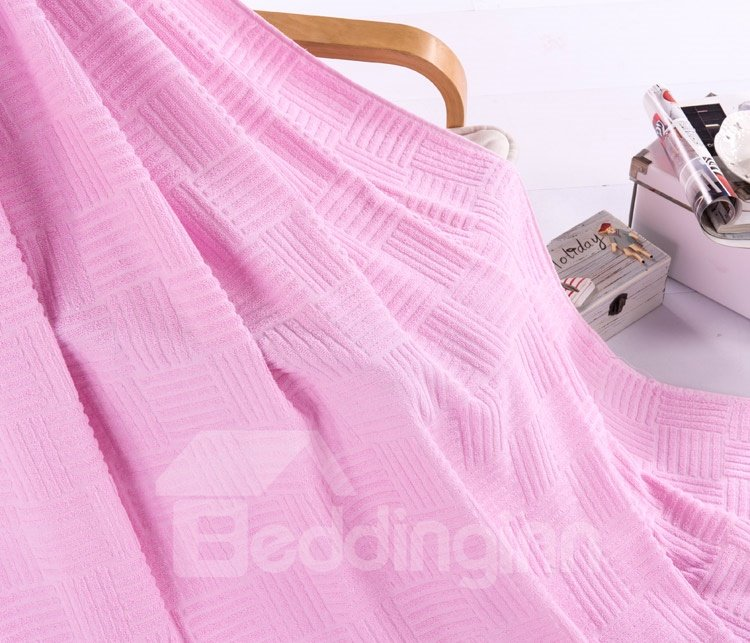 High Quality Comfortable and Skincare 100% Cotton Towelling Coverlet