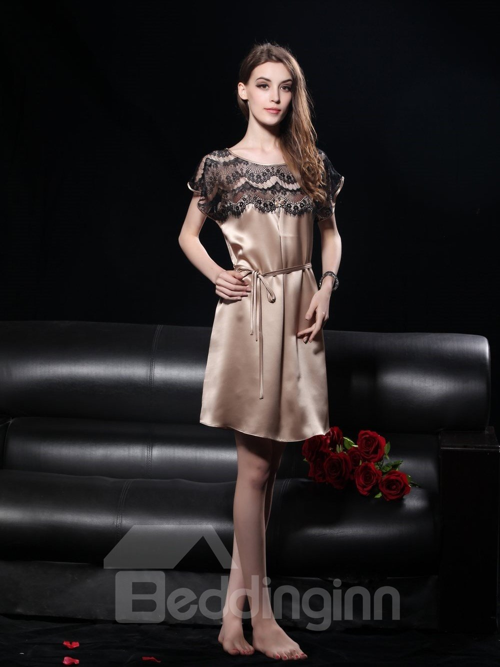 New Style Elegant and Comfortable Princess Lace Sleepwear