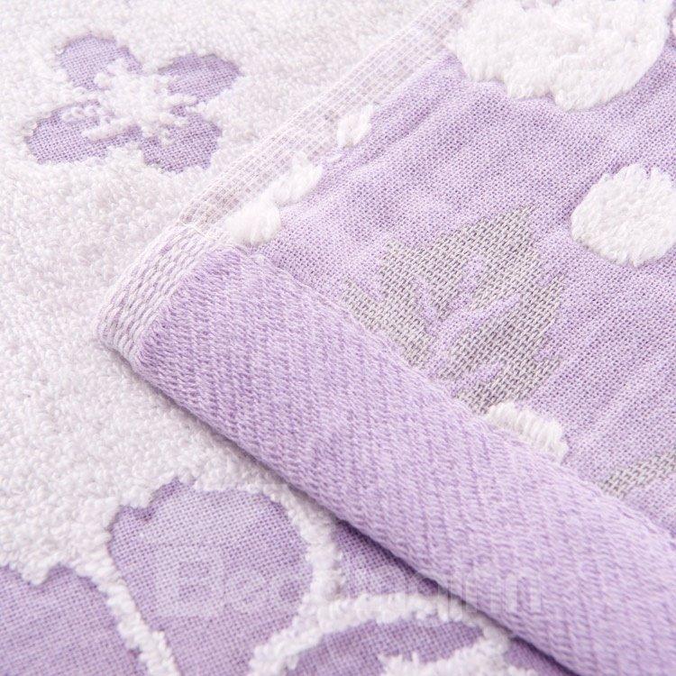 High Quality Comfortable Amazing Peony Jacquard Blanket