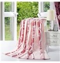 High Quality Gorgeous Flower Printed Summer Blanket