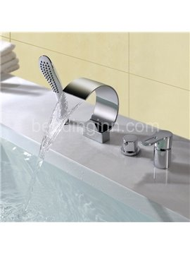 New Arrival Contemporary Style Zinc Alloy Bathtub Faucet