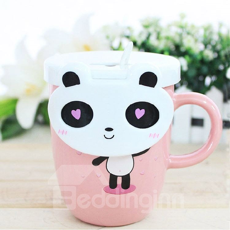 New Arrival Creative Cute Cartoon Panda Ceramic Mug 10915381