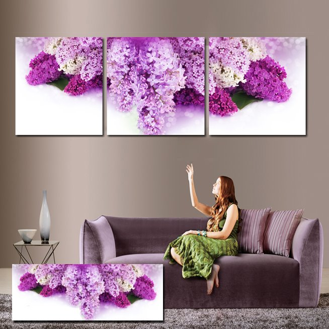 New Arrival Delicate & Fragrant Flowers Cross Film Wall Art Prints