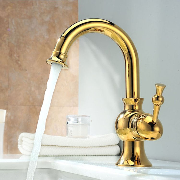 New Arrival Hot Selling Gold Bathroom Sink Faucet
