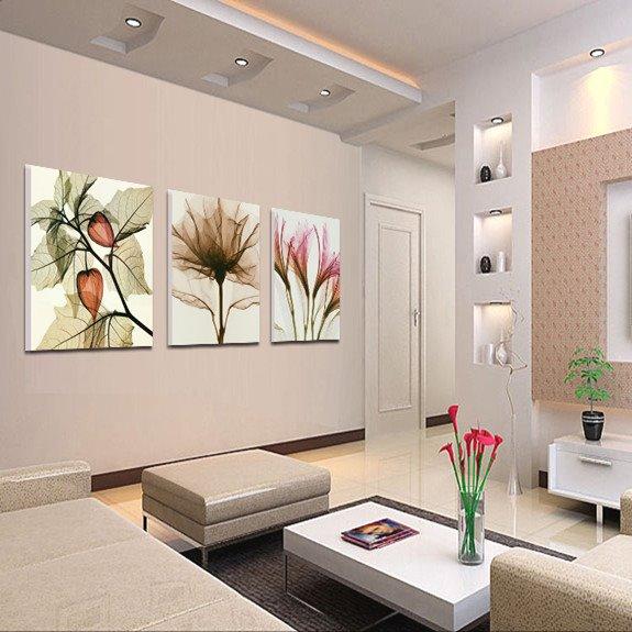 New Arrival Graceful Flowers Cross Film Wall Art Prints