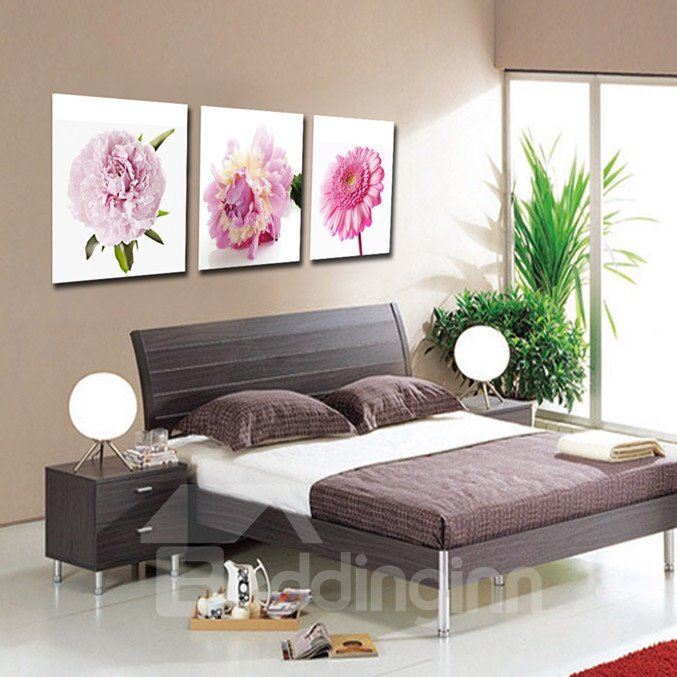 New Arrival Different Wonderful Flowers  Cross Film Wall Art Prints