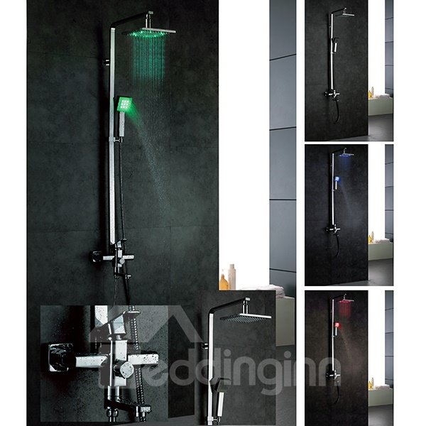 Top Selling Fashionable LED Color Changing Shower Head Faucet