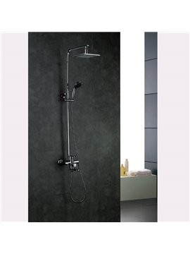Elegant High Quality Chrome Finish Shower Head Faucet