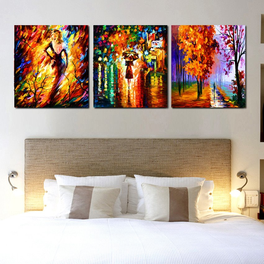 Colofrul Sexy Lady in Wood Cross Film Wall Art Prints