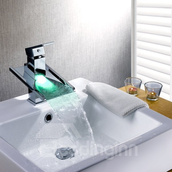 Top Selling Charming LED Color Changing Bathroom Sink Faucet