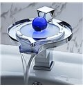Unique High Quality LED Color Changing Bathroom Sink Faucet